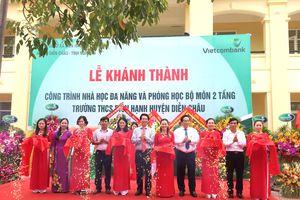 Khánh thành công trình nhà học tại xã nghèo ở Nghệ An