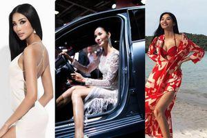 Mặc váy xẻ cao ngất gợi cảm, mỹ nhân Việt khó 'vượt mặt' Hoàng Thùy