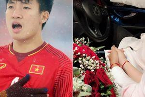 Sau Văn Hậu, trung vệ Tiến Dũng U23 công khai bạn gái đúng dịp sinh nhật