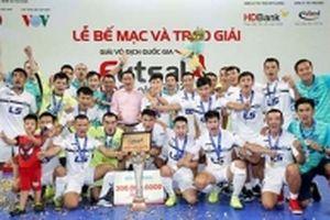 CLB Thái Sơn Nam bảo vệ thành công chức vô địch