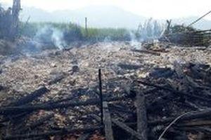Cháy nhà, một người tử vong