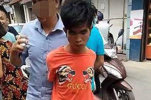 Liều lĩnh cướp tiệm vàng giữa ban ngày tại Hà Nội