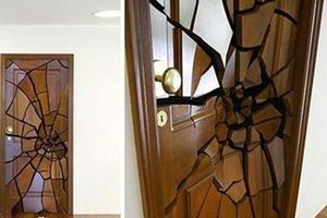 10 mẫu cửa ra vào cách tân cho nhà đẹp hiện đại