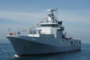 Tường tận tàu hộ vệ Brunei 'nhỏ nhưng có võ' đang thăm Việt Nam