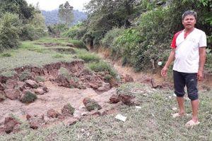 Thành Tam Vạn, Điện Biên: Cát tặc đánh sạt di tích quốc gia