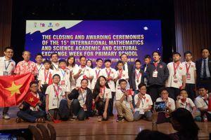 Đoàn Việt Nam đạt thành tích cao nhất trong lịch sử dự thi IMSO