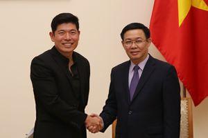 Phó Thủ tướng Vương Đình Huệ: Grab nghiên cứu mở rộng hoạt động trong lĩnh vực logistics tại Việt Nam