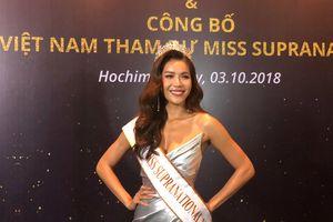 Minh Tú đại diện Việt Nam dự thi 'Hoa hậu Siêu quốc gia 2018'
