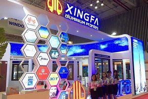 Aseanwindow và Xingfa hút khách tham quan tại Vietbuild