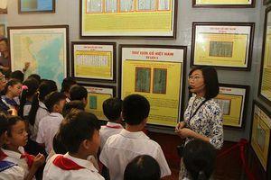 Triển lãm 'Hoàng Sa, Trường Sa của Việt Nam – Những bằng chứng lịch sử và pháp lý'