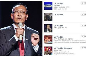 Đâu là facebook chính thức của MC Lại Văn Sâm?