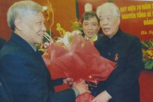 Nguyên Tổng Bí thư Lê Khả Phiêu nói về 'anh Mười' cố vấn