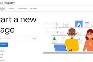 Google cho phép đăng ký sớm các tên miền .page