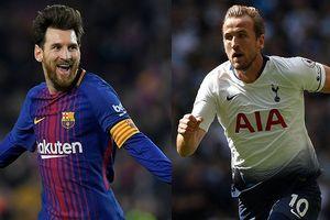 Loạt trận Champions League đêm nay: Tottenham 'đụng' gã khổng lồ Barcelona