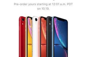 Cách đặt mua iPhone XR 'siêu tốc' trên ứng dụng mới của Apple