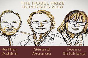 Đã tìm ra chủ nhân của giải Nobel Vật lý 2018