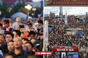 Một nửa đất nước cùng đổ ra đường trong 'Tuần lễ vàng' Quốc khánh Trung Quốc