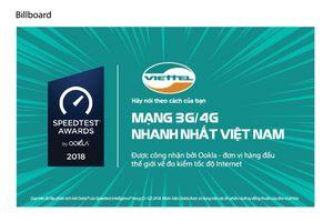 Viettel là mạng di động nhanh nhất Việt Nam