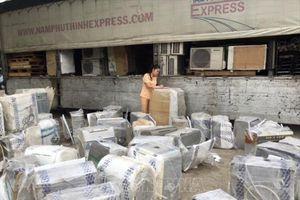 Thanh Hóa: Bắt 2 vụ vận chuyển hàng gia dụng cũ nhập lậu