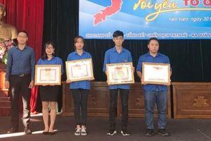 Sôi nổi ngày hội 'Tôi yêu tổ quốc tôi' của tuổi trẻ xã Yên Viên