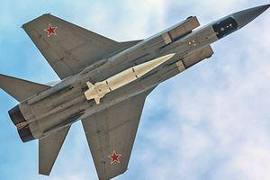 Sau Kinzhal, Nga đưa sát thủ diệt vệ tinh lên siêu tiêm kích MiG-31