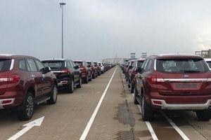 Một tuần hơn 4.000 ô tô nhập khẩu về Việt Nam