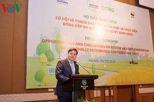 Việt Nam cần làm gì để thực hiện cam kết cắt giảm 9% khí nhà kính?