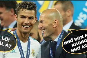 Biếm họa 24h: Real Madrid sảy chân, Cristiano Ronaldo cười đau bụng
