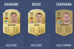 Top 10 thủ môn xuất sắc nhất Bundesliga trong FIFA 19