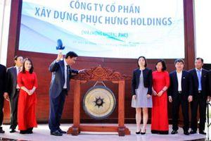Rời Constrexim Holdings, Phục Hưng Holdings chính thức gia nhập HOSE với giá trị niêm yết hơn 208 tỷ đồng