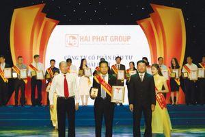 Hải Phát Invest nhận 2 giải tại 'Sao vàng doanh nhân Đất Việt 2018'