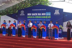 Hội sách Hà Nội 2018 chính thức khai mạc tại Hoàng thành Thăng Long