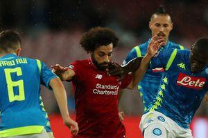 Napoli vs Liverpool (1-0): Salah và đồng đội gục ngã ở phút 90