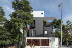 'Biệt thự rubic trắng đen' nổi bần bật giữa khu Cầu Giấy, Hà Nội