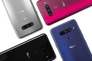 LG V40 ThinQ trình làng, có 5 camera khiến fan hứng khởi