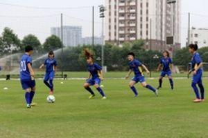 Tuyển U19 nữ Việt Nam chuẩn bị cho vòng loại châu Á 2019
