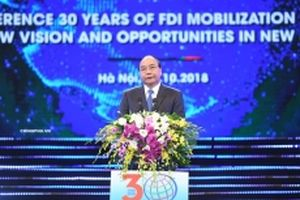 Hơn 26.500 dự án FDI vào Việt Nam trong 30 năm