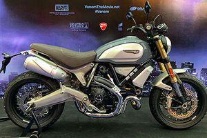 Siêu phẩm Ducati Scrambler 1100 tung hoành trong 'bom tấn' Venom