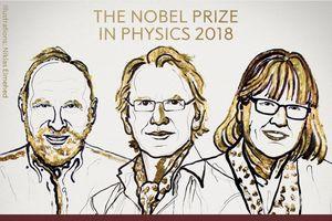 Giải Nobel Vật lý cho công cụ ánh sáng