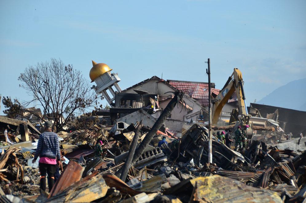 Tường trình của PV từ vùng thảm họa sóng thần ở Indonesia: Hoang tàn Palu