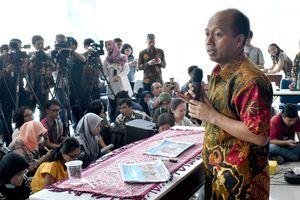 Ung thư giai đoạn cuối, phát ngôn viên Indonesia vẫn làm việc hết mình sau thảm họa