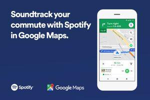 Ứng dụng nghe nhạc Spotify chính thức tích hợp trên Google Maps