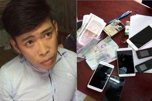 Truy bắt 9X chuyên trộm cắp tài sản các phòng trọ