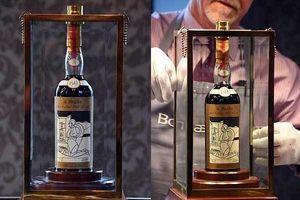 Ngắm chai rượu đắt nhất thế giới giá 25 tỷ đồng