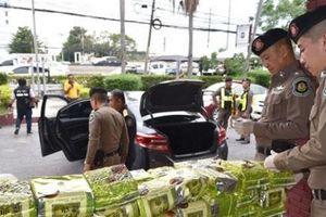 Thái Lan: Tinh vi thủ đoạn buôn lậu 100kg ma túy đá bằng ô tô hỏng