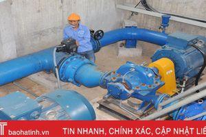 Khoảng 18% người dân đô thị Hà Tĩnh chưa được sử dụng nước sạch