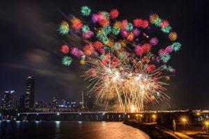 Người dân Seoul háo hức chờ đón lễ hội pháo hoa quốc tế 2018