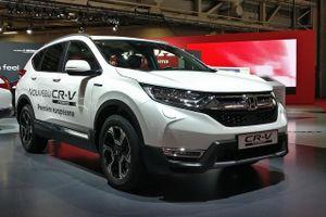 Honda CR-V Hybrid 2018 trình làng, sẽ giao hàng vào đầu năm tới