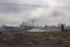 Đốt chất thải công nghiệp gây ô nhiễm: Bao giờ mới có quy trình
