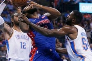 Andre Drummond tỏa sáng, Detroit Pistons 'diệt gọn' OKC